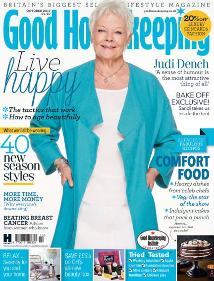 Good Housekeeping - UK August 30, 2017 00:00
