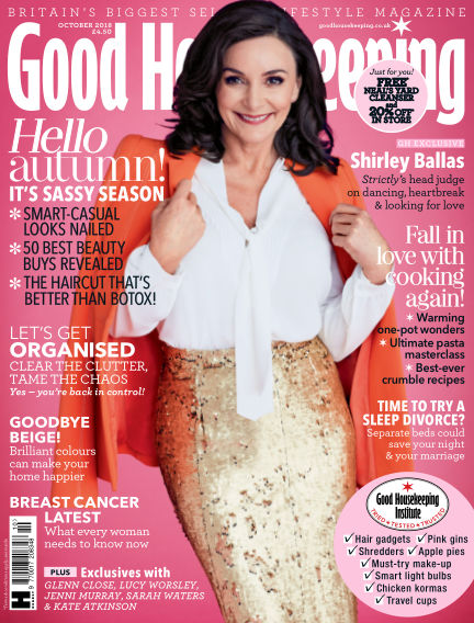 Good Housekeeping - UK August 29, 2018 00:00