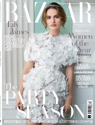 Harper's Bazaar - UK December 2015