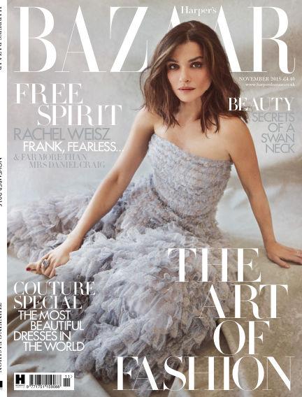 Harper's Bazaar - UK October 01, 2015 00:00