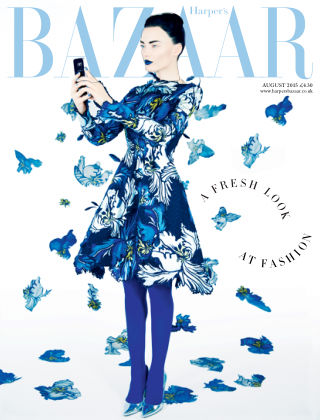 Harper's Bazaar - UK August 2015