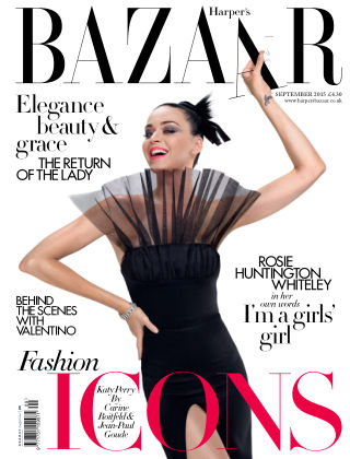 Harper's Bazaar - UK September 2015