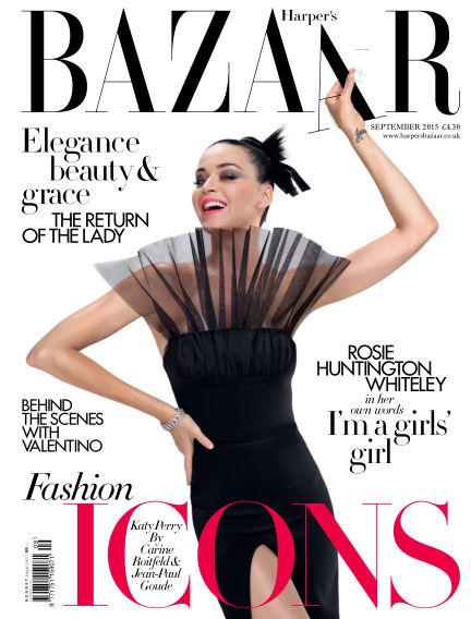 Harper's Bazaar - UK August 04, 2015 00:00