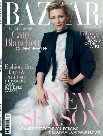 Harper's Bazaar - UK January 01, 2016 00:00