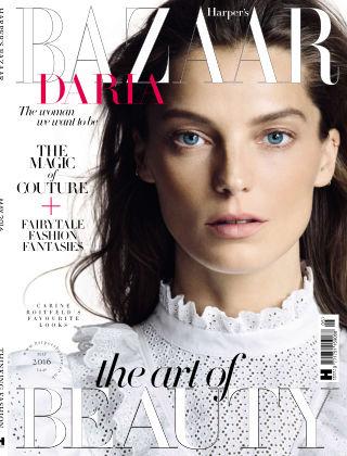 Harper's Bazaar - UK May 2016