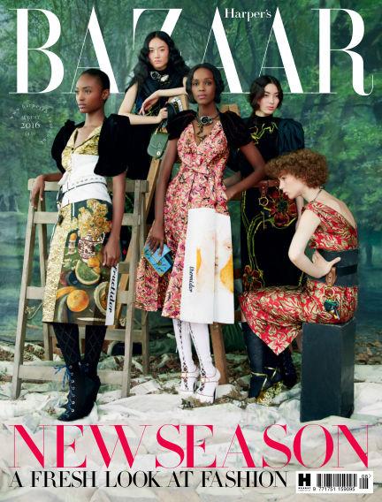 Harper's Bazaar - UK July 01, 2016 00:00