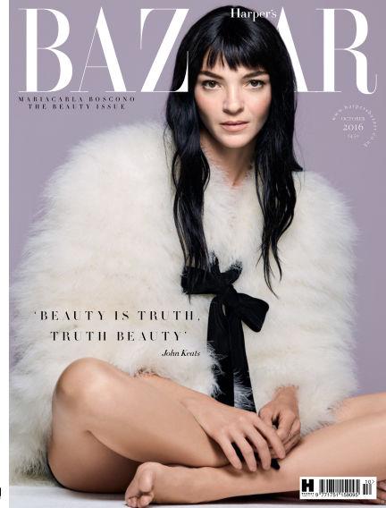 Harper's Bazaar - UK September 01, 2016 00:00