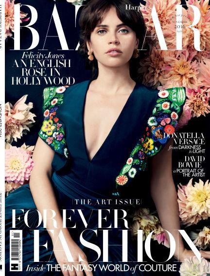 Harper's Bazaar - UK October 04, 2016 00:00