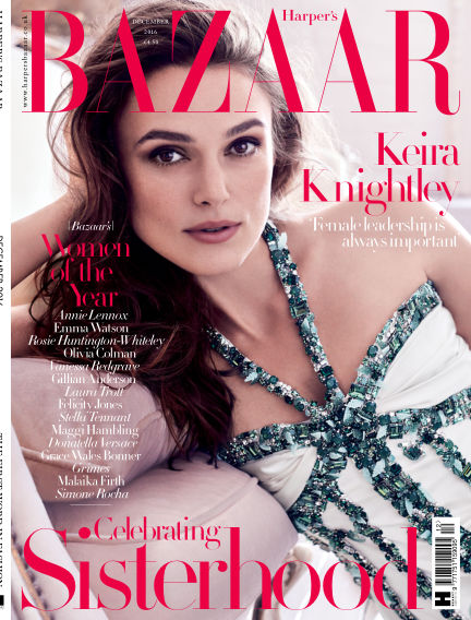 Harper's Bazaar - UK November 03, 2016 00:00