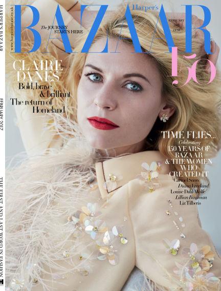 Harper's Bazaar - UK January 04, 2017 00:00