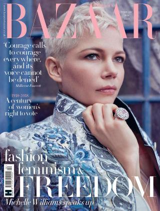 Harper's Bazaar - UK Feb 2018