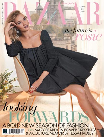 Harper's Bazaar - UK February 02, 2018 00:00