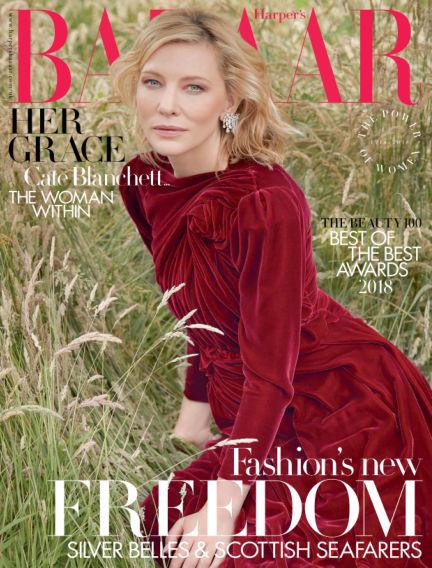 Harper's Bazaar - UK September 04, 2018 00:00