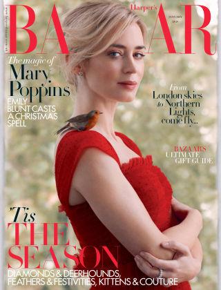 Harper's Bazaar - UK Jan 2019