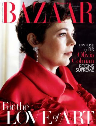 Harper's Bazaar - UK Nov 2019
