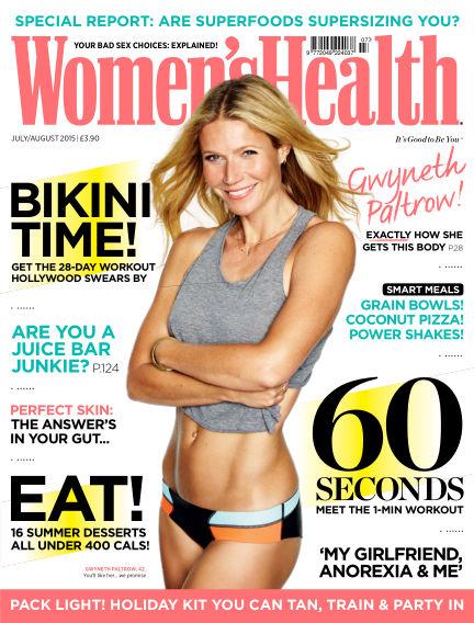 Women's Health - UK June 11, 2015 00:00