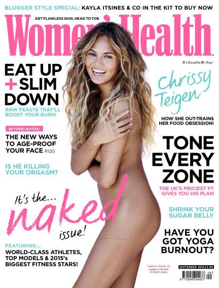 Women's Health - UK July 30, 2015 00:00