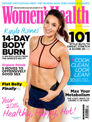Women's Health - UK January 2016