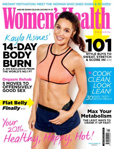 Women's Health - UK December 10, 2015 00:00