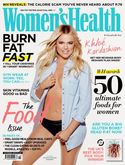 Women's Health - UK September 03, 2015 00:00
