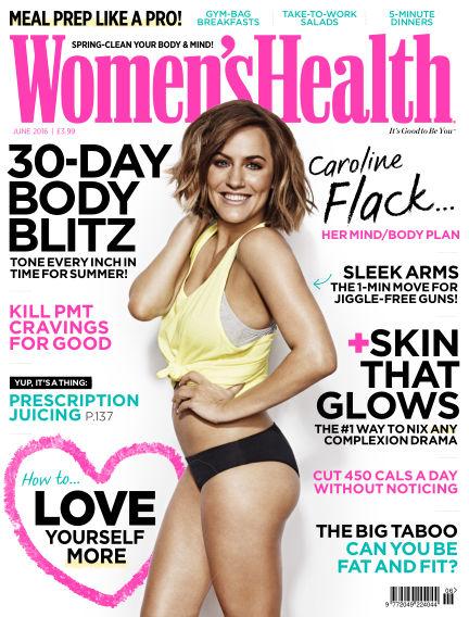 Women's Health - UK May 12, 2016 00:00
