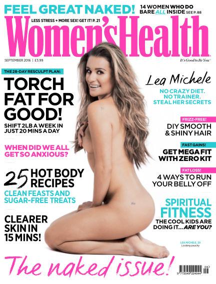 Women's Health - UK August 10, 2016 00:00