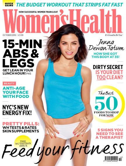 Women's Health - UK September 07, 2016 00:00