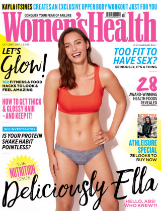 Women's Health - UK Oct 2017