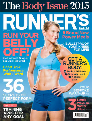 Runner's World UK July 2015