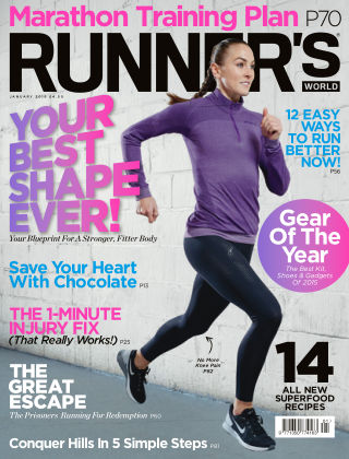 Runner's World UK January 2016
