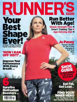 Runner's World UK October 2016