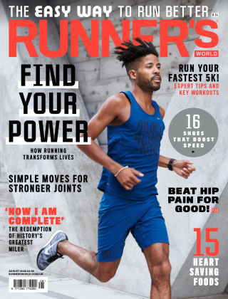 Runner's World UK August 2020