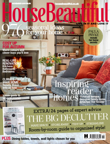 House Beautiful - UK October 02, 2015 00:00
