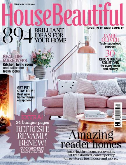 House Beautiful - UK January 01, 2016 00:00