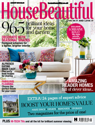 House Beautiful - UK August 2016