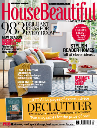 House Beautiful - UK September 2016