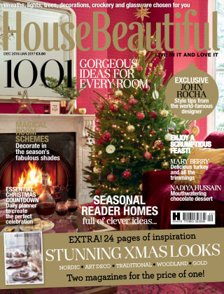 House Beautiful - UK Dec 2016 - Jan 2017