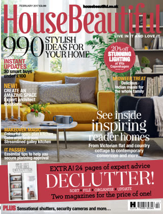 House Beautiful - UK February 2017