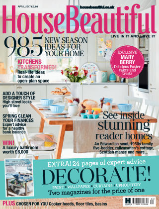 House Beautiful - UK April 2017