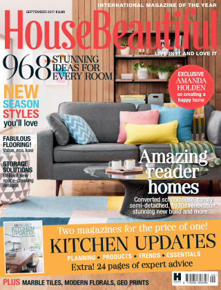 House Beautiful - UK Sep 2017
