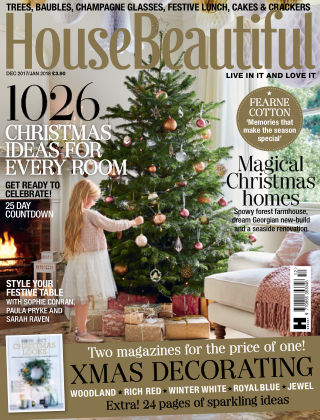 House Beautiful - UK Dec/Jan 2017