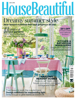 House Beautiful - UK Jul 2018