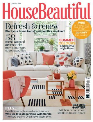 House Beautiful - UK Aug 2018