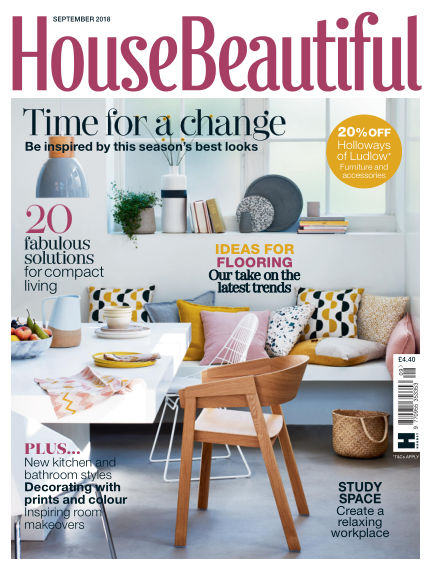 House Beautiful - UK August 07, 2018 00:00