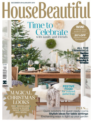 House Beautiful - UK Dec-Jan 2019