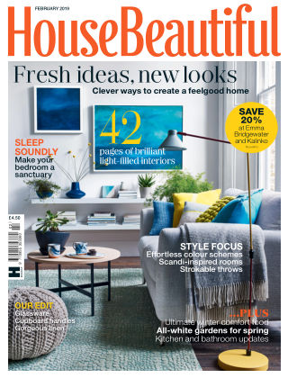 House Beautiful - UK Feb 2019