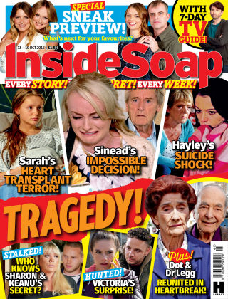 Inside Soap - UK Issue 41 2018
