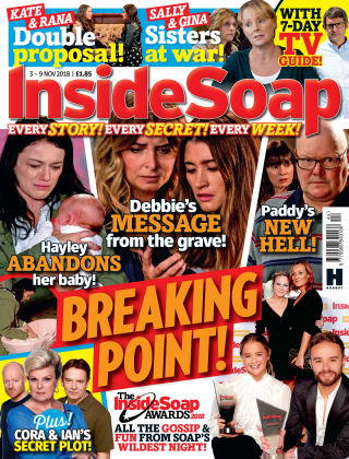 Inside Soap - UK Issue 44 - 2018