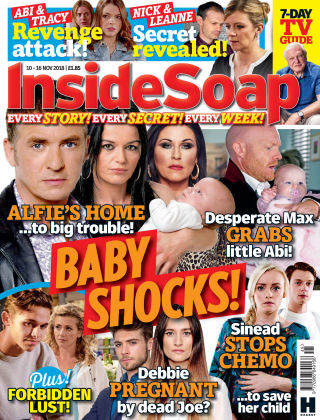 Inside Soap - UK Issue 45 - 2018