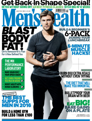 Men's Health - UK January 2016